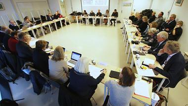 USN RSA møttes på campus Drammen 22.01. foto.